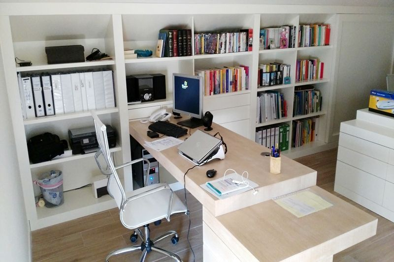 Despacho de estilo contempor neo for Como disenar un despacho